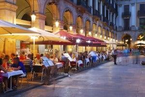Una cena diferente en Barcelona