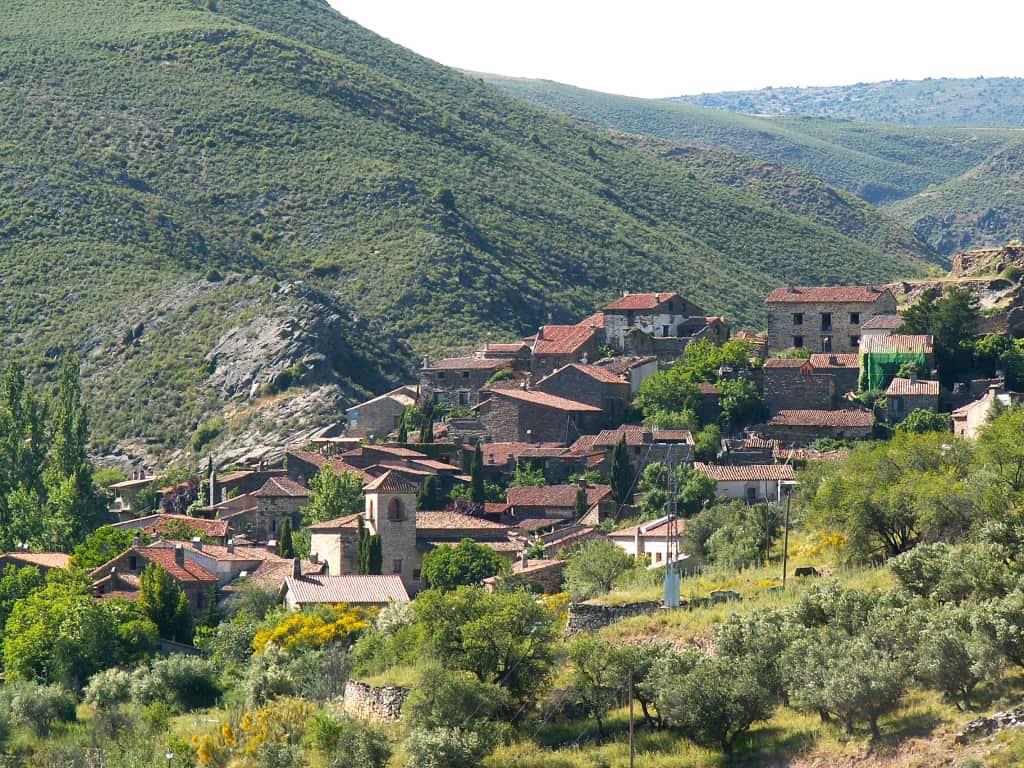 pueblos en la sierra de Madrid