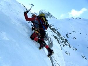 Nieve en La Sierra de Madrid - Alpinismo