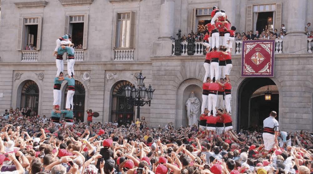 Fiestas de la Mercé 2017 en Barcelona