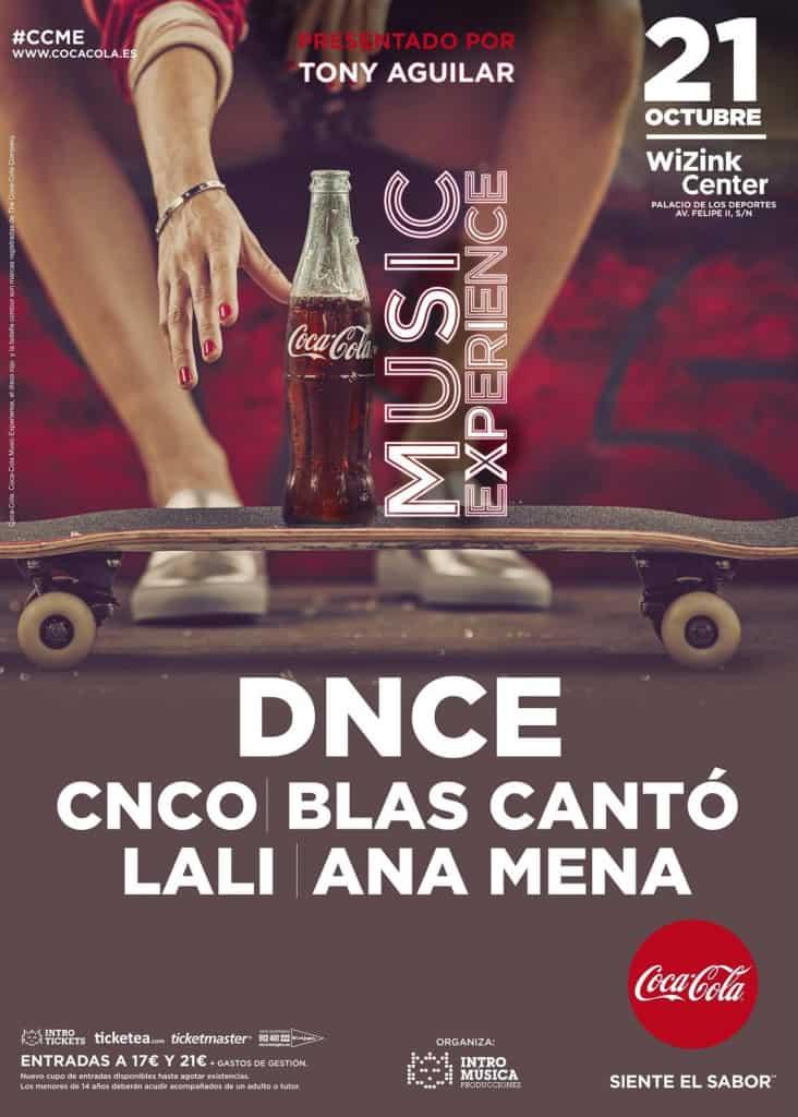 Coca Cola Music Experience 2017