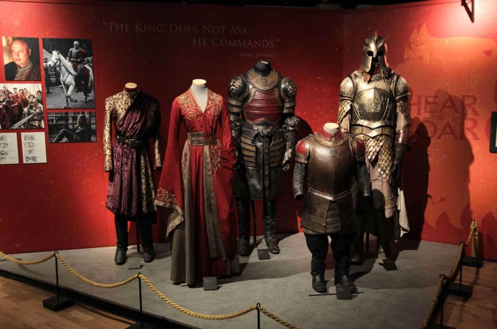 Exposición de Juego de Tronos en Barcelona