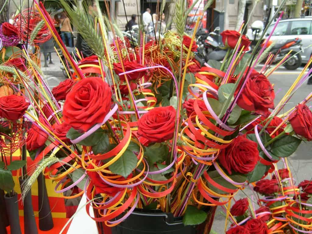 Sant Jordi 2018 en Barcelona