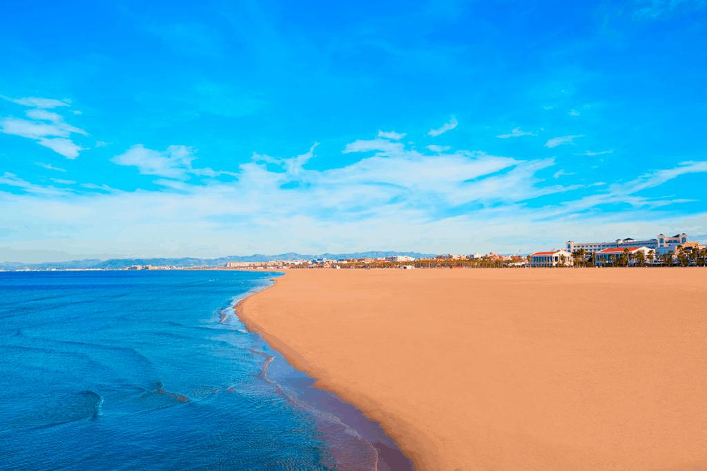 Playa El Cabañal - Las Arenas