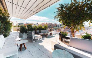 Ginkgo Sky Bar - mejores terrazas de Madrid