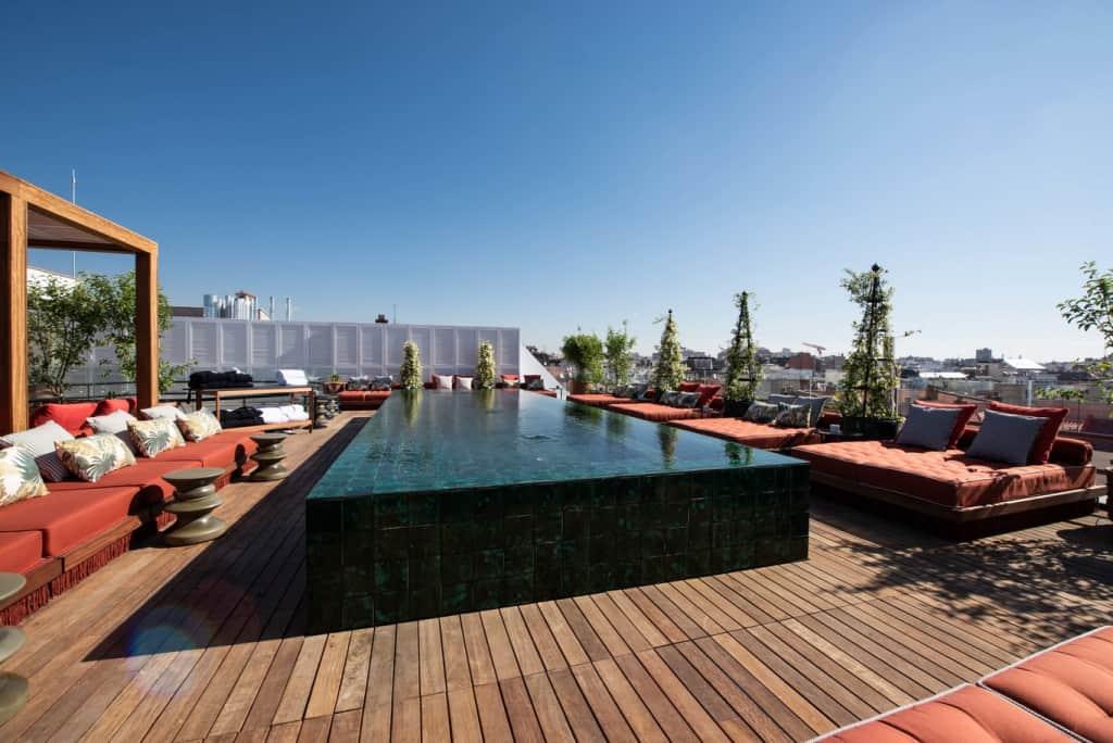 Picos Pardos Sky Lounge - mejores terrazas de Madrid