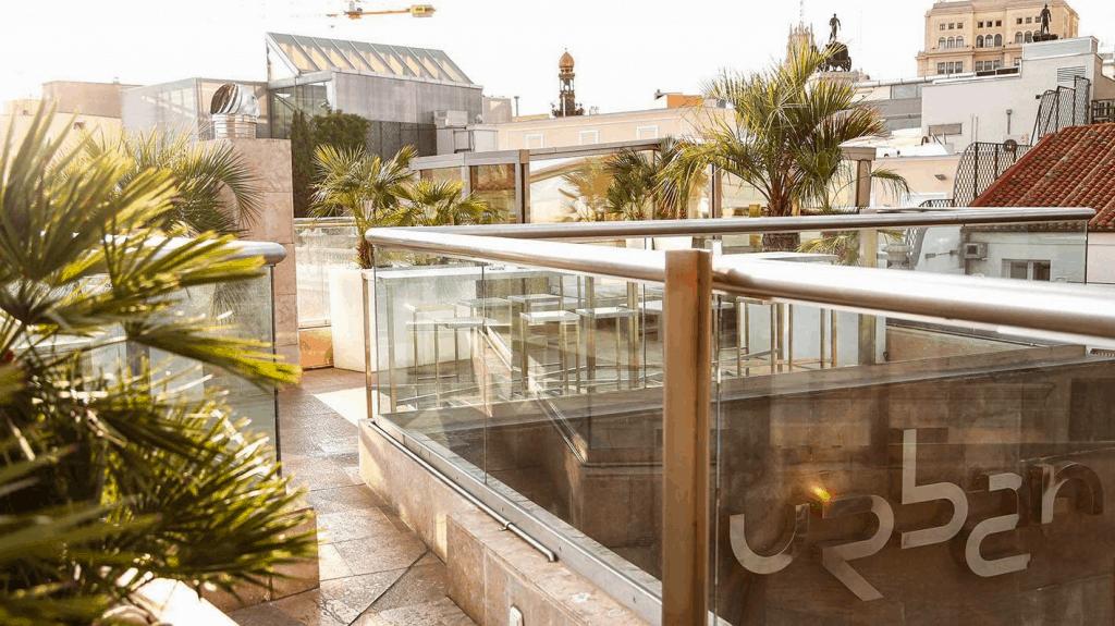 Terraza del Urban - mejores terrazas de Madrid