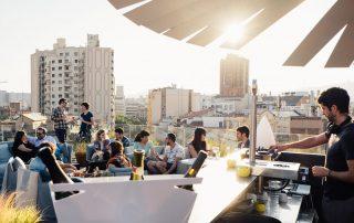 Roof Top BarPlat Únic Travelodge
