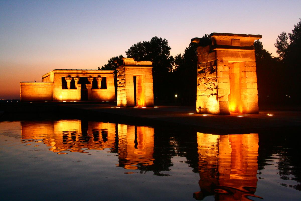 6 lugares para hacer fotos perfectas en Madrid - Un pedazo del Antiguo Egipto en pleno Madrid