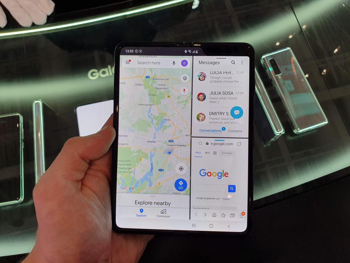 Mobile World Congress Barcelona: novedades imperdibles - Moviles plegables entre algunas de las novedades de la pasada edición