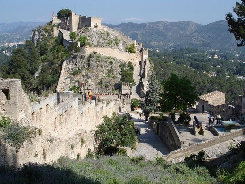 4 pueblos con encanto cerca de Valencia - Xàtiva