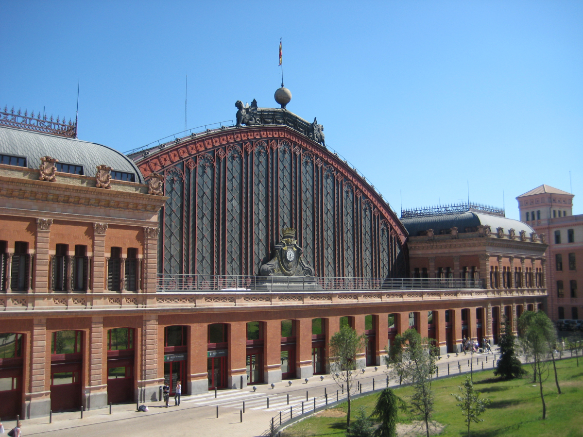Madrid de cine- Atocha, la entrada de Bourne