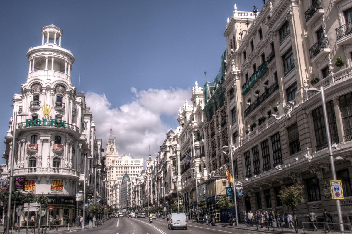 """Madrid de cine- """"Abre los ojos"""" en plena Gran Vía"""