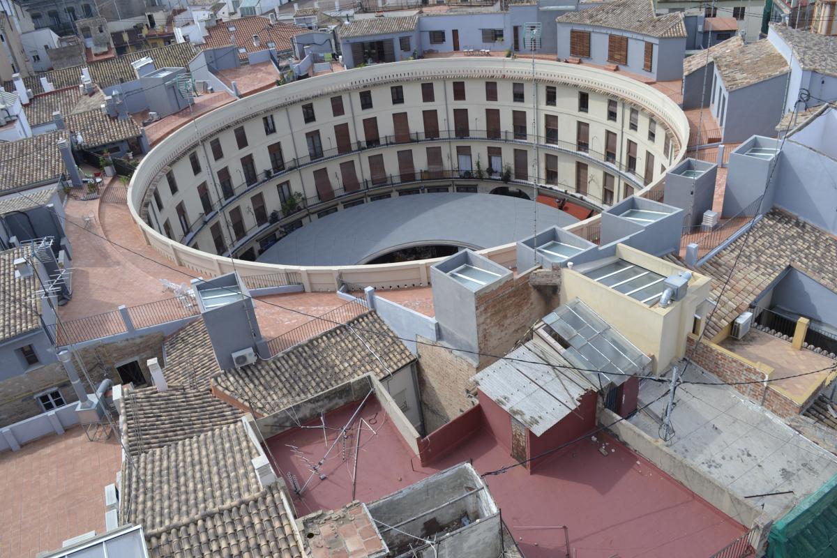 los 5 lugares más fotografiados de Valencia - La Plaza Redonda, Valencia en estado puro