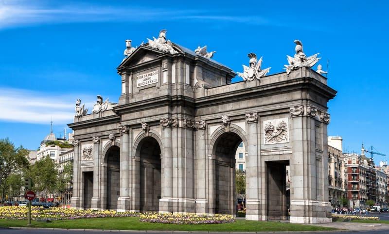 La playlist perfecta para visitar Madrid - La Puerta de Alcalá