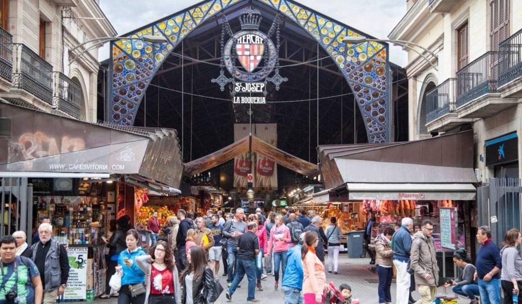 Un día diferente de Shopping en Barcelona - La Boqueria